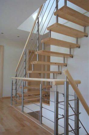 Treppe Ohne Geländer design bolzentreppe reling die leichte designtreppe auch ohne