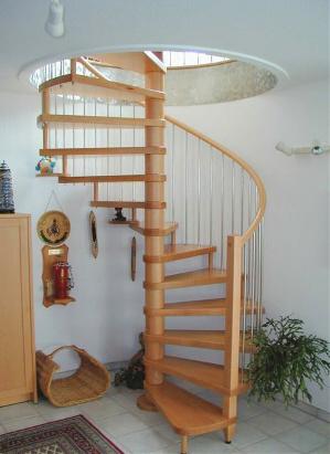 spindeltreppen aus holz oder stahl au entreppen. Black Bedroom Furniture Sets. Home Design Ideas